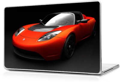 Global Roadster Sports Car Vinyl Laptop Decal