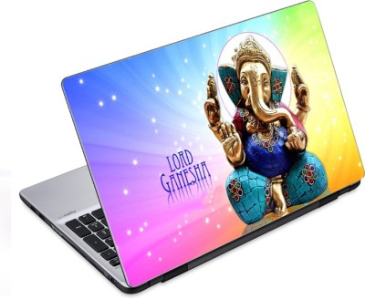 ezyPRNT Ganesha Statue (14 to 14.9 inch) Vinyl Laptop Decal 14