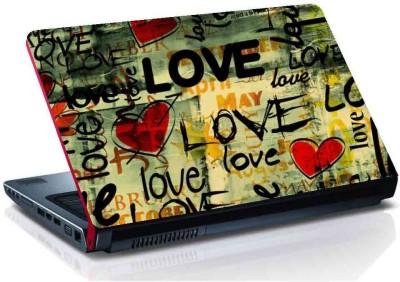 virtual prints love digitally printed vinyl Laptop Decal 15