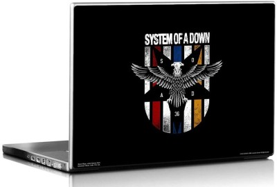 Bravado System Of A Down Eagle logo Vinyl Laptop Decal 15.6