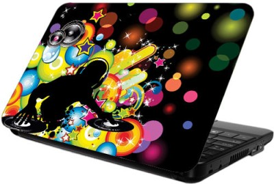 Printland Bubbled DJ Vinyl Laptop Decal 13