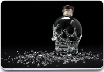 Trendsmate Glass Skull 3M Vinyl and Lamination Laptop Decal 15.6