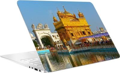 AV Styles Golden Temple Of Amritsar By Av Styles Vinyl Laptop Decal 15.6