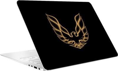 AV Styles Black and Yellow Eagle Laptop Skin by AV Styles Vinyl Laptop Decal 15.6
