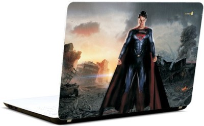 Pics And You Superman With Sunshine Vinyl Laptop Decal 15.6