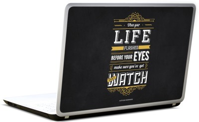 Lab No. 4 Life Flashes Before Your Eyes Vinyl Laptop Decal 17