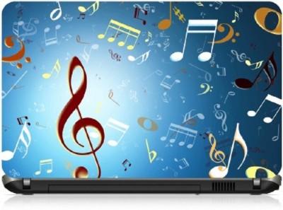 livestash music symbols vinyl Laptop Decal