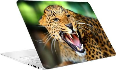 AV Styles Leoperd Running By Av Styles Vinyl Laptop Decal