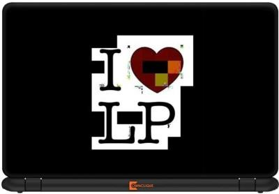 Ownclique I Love LP Vinyl Laptop Decal 14.1