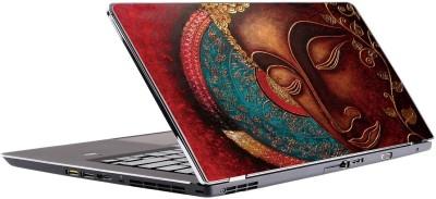 Innovate Buddha Red Vinyl Laptop Decal 15.6