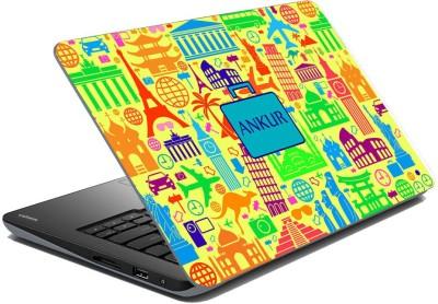 meSleep Abstract Travel - Ankur Vinyl Laptop Decal