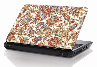 BSEnterprise Colorfull Floral Design Vinyl Laptop Decal 15.6