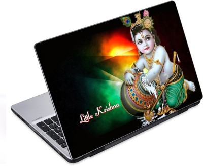 ezyPRNT Little Krishna (14 to 14.9 inch) Vinyl Laptop Decal 14
