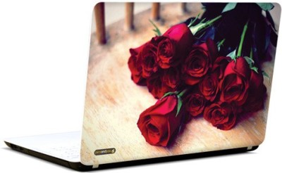PicsAndYou Wrapped In Roses Vinyl Laptop Decal 15.6