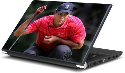 Artifa Tiger Woods Golf Inspired Vinyl Laptop Decal 15.6