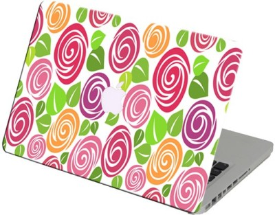Theskinmantra Roses Textures Laptop Skin For Apple Macbook Air 11 Inch Vinyl Laptop Decal 11