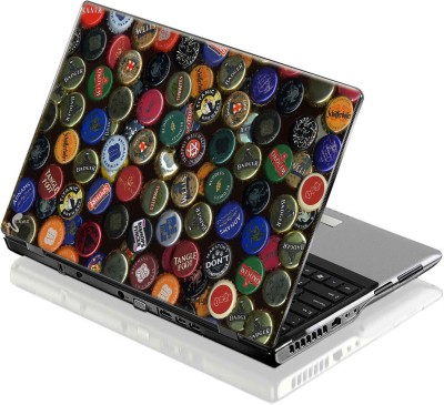 Seamen Bottle Caps Vinyl Laptop Decal 15.6