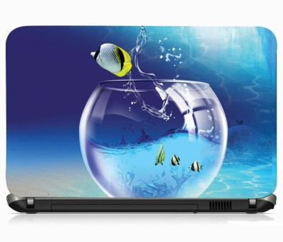 VI COLLECTIONS MARINE FISH IMPORTED VINYL Laptop Decal 15.5