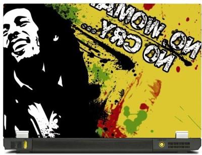 Skincentral Skinkart Bob Marley Colorful Vinyl Laptop Decal 14.1
