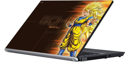 Eclipse Goku Vinyl Laptop Decal