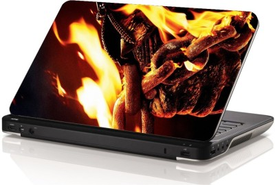 Swati Graphics SGLS038 Ghost Rider Vinyl Laptop Decal