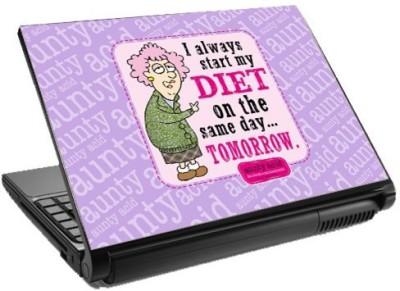 Tashanstreet Start my Diet Tomorrow... Laptop Skin Vinyl Laptop Decal