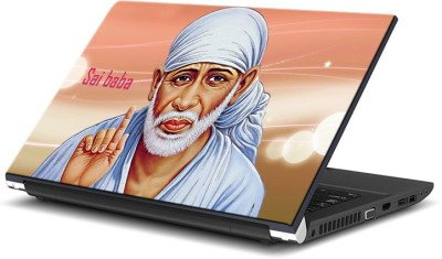 ezyPRNT Sabka Malik ek (15 to 15.6 inch) Vinyl Laptop Decal 15