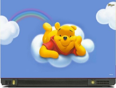 livestash pooh2 vinyl Laptop Decal