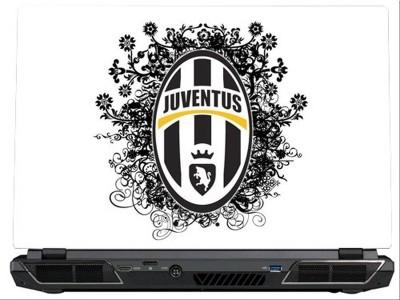 SkinShack Juventus FC Logo Mural (17 inch) Vinyl Laptop Decal 17