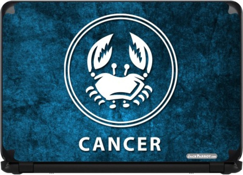 Jack Parrot Cancer 2 Vinyl Laptop Decal 15.6