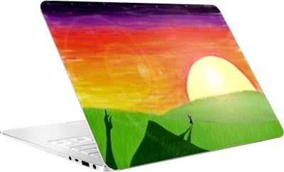 AV Styles Rising Sun Laptop Skin Vinyl Laptop Decal 15.6