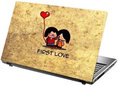 virtual prints sweet love poster brown digitally printed vinyl Laptop Decal 15