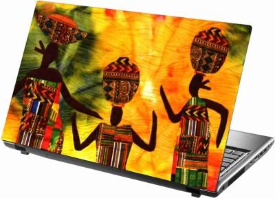 Sab Kuch Print cute girls 351 Polyester Laptop Decal 14.1