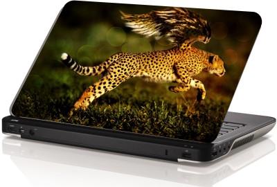 Swati Graphics Sgls017 Cheetah Vinyl Laptop Decal 15.6