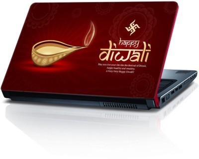 Shopkeeda Diwali SLS055419 Vinyl Laptop Decal 15.5