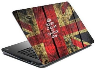 Maison n Mode Keep Cam and Carry On Vinyl Laptop Decal 15.6