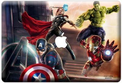 Planet Superheroes Avengers take Aim Vinyl Laptop Decal 12
