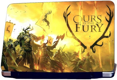 Style Clues Ours Fury Vinyl Laptop Decal