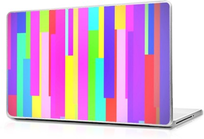 Global Abstract Stripes Vinyl Laptop Decal
