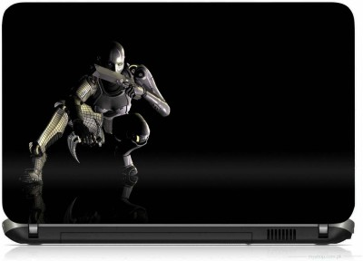 VI COLLECTIONS ROBOT READY TO ATTACK PRINTED VINYL Laptop Decal 15.6