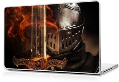 Global Dark souls Brown background Vinyl Laptop Decal 17