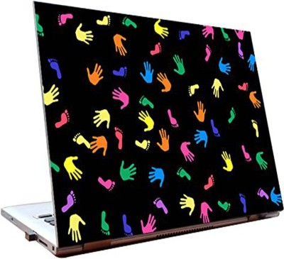 Dealmart Laptop Skins 15.6 inch - Imprints - Colorful - Abstract - HD Quality Vinyl Laptop Decal 15.6