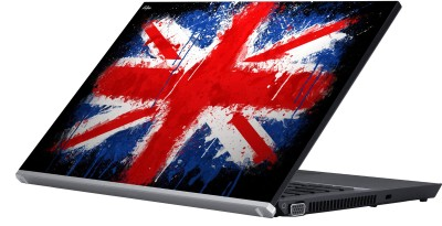 Eclipse The British Flag Vinyl Laptop Decal