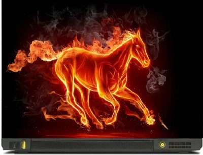livestash fire horse vinyl Laptop Decal