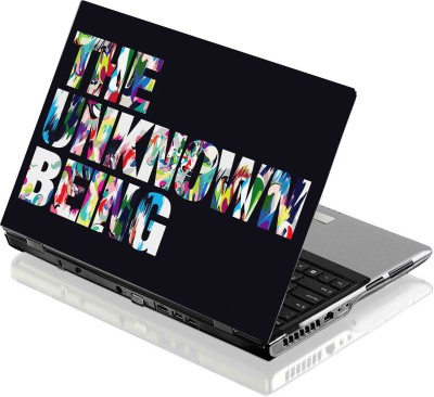 Seamen The Unknown Being 3M Vinyl with Eco Solvent print and lamination Laptop Decal 15.6