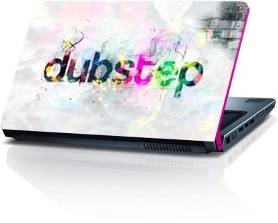 Shopmillions Colourful Dubstep Vinyl Laptop Decal 15.6