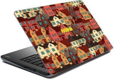 meSleep Urban City for Pushpak Vinyl Laptop Decal