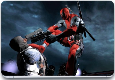 Trendsmate Deadpool in action 3M Vinyl and Lamination Laptop Decal 15.6