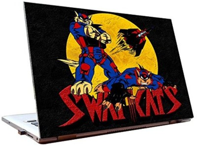 Dealmart Swat Kats - Cartoons - HD Quality Vinyl Laptop Decal 15.6