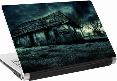 142Skin Dark hut ruin Vinyl Laptop Decal 15.6